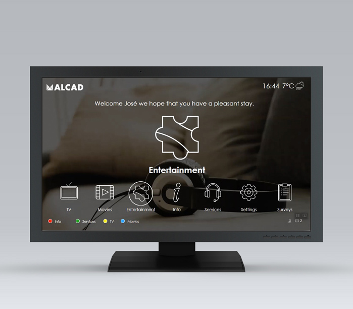 IPTV Healthcare, the simplest and most cost-effective TV solution