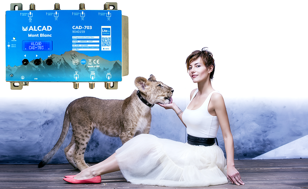 2nd generation of our Mont Blanc digital programmable amplifier: a compact headend with a lion's heart