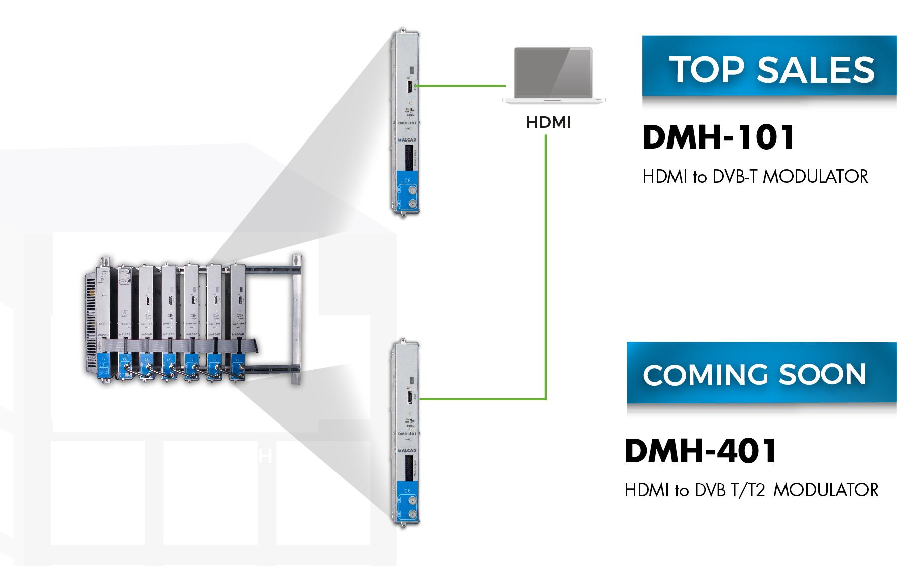 New DMH range