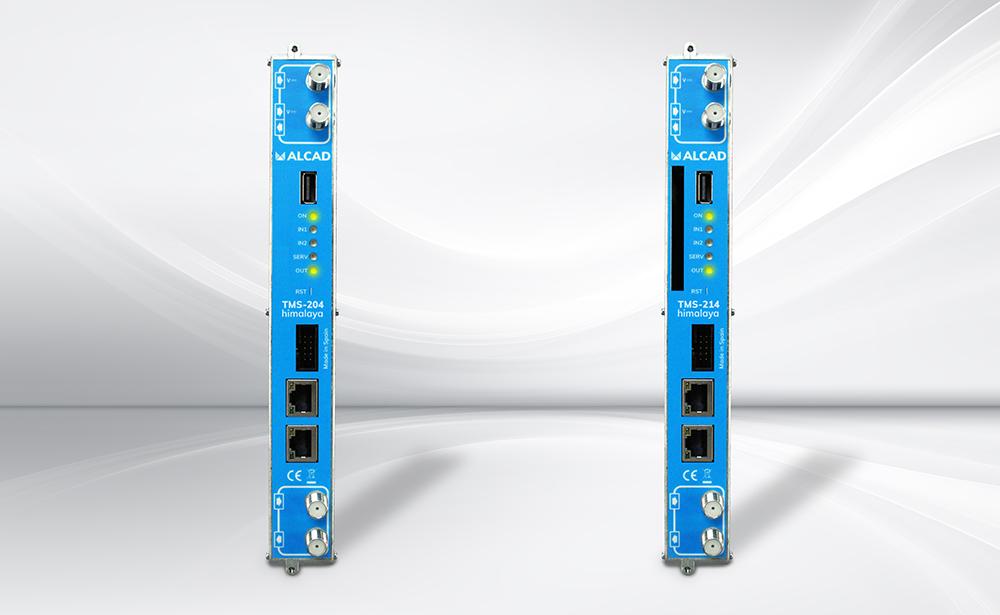 Nuevos transmoduladores TMS de la gama himalaya: compatibles con DVB-S2 Multistream