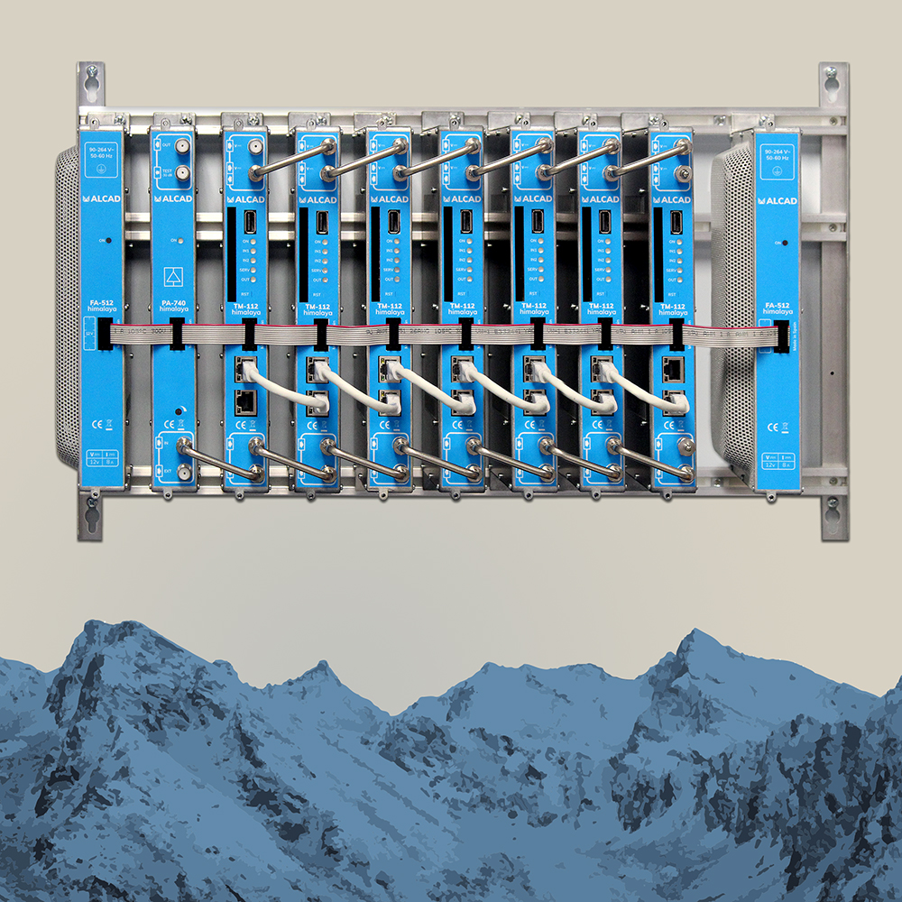 himalaya: new modular headends with redundant power supply and remote configuration
