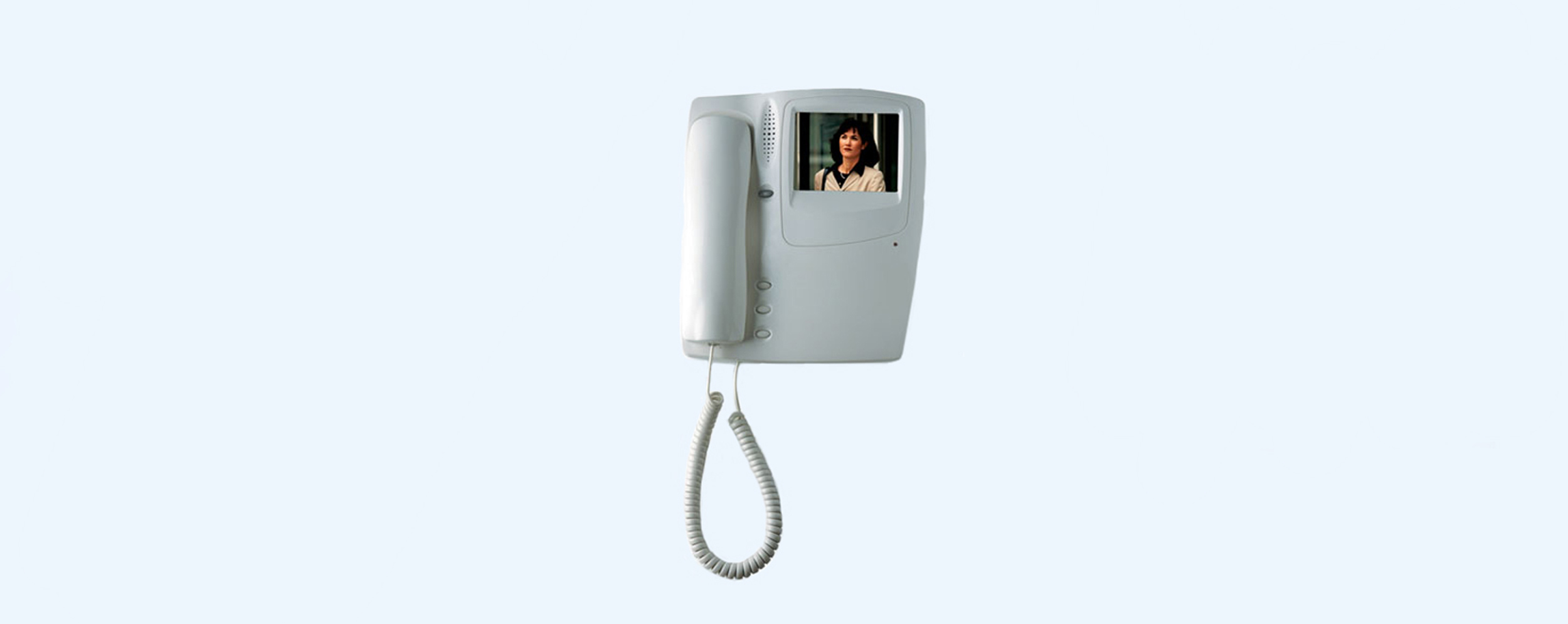 Door Entry Systems Alcad Home Security System Wiring Diagram Furthermore Free Also In The Case Of A Video Installation Color Indoor Unit Model Mvc 002 With Coaxial Cable Connection Is Available